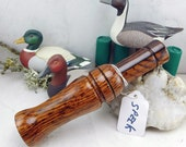 Short Reed Speckled Belly Goose Call in Cocobolo #29A