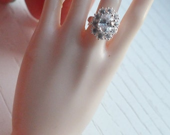 1/3 SD BJD Oval Engagement Ring