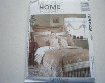 Pattern Home Decor Bedroom Essentials McCalls 4629