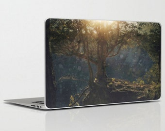 Laptop iPad skin - a special kind of night