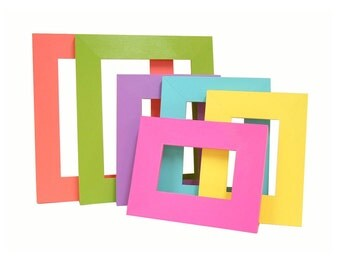 Picture Frames Picture Frame Set Colorful Modern Home Decor For Kids Nursery Picture Frames Wood Frames Wall Decor Wall Art