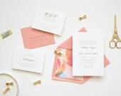 Wedding Invitation Sample - The Madelynn Suite