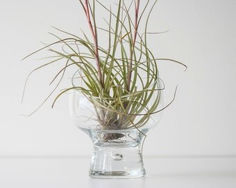 Danish Modern Dansk Glass Candle Holder