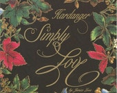 Embroidery Designs Hardanger Simply Love by Janice Love 1991 Embroidery Stitches Embroidery Patterns Embroidery Projects