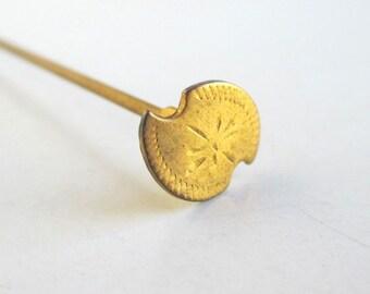 "6 1/4"" Gold Hat Pin - Antique, Vintage"