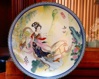 Imperial Jingdezhen Porcelain Collectable Plate