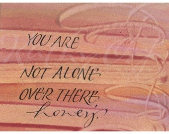 You are not alone...Original art (#115) from 365 project (year 4)