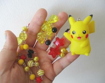 SALE - Pokémon Necklace - PIKACHU - Bandai Figure Necklace - Gamer Gear