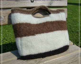 Felted Cow Bag