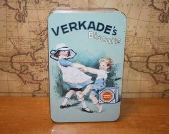 Vintage Verkade's Biscuits Tin - item #1402
