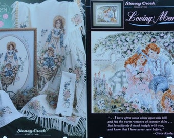 Garden Ride & Loving Memories – Stoney Creek Collection # 41, #61  - 2 Cross Stitch Charts