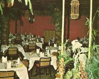 Tropicana Dining Lounge Hotel Quinte Belleville Ontario Unused Vintage Postcard