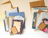 A *blue* PACK-of-POCKETS. A collection of pouches, envelopes & pockets for all your crafty doings