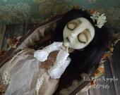 Joliete Memento Mori dead deceased Art Doll OOAK LuLusApple