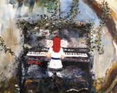 Custom Painting Reserved for Randi