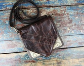 NEW Leather Travel Bag Cross Body Shoulder Bag for Camera Accessories Messenger Aztec