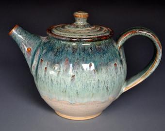 Stoneware Pottery Teapot Ceramic Teapot Handmade Pottery Teapot A