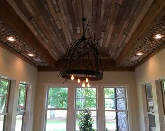 Custom steel branch art chandelier light fixture
