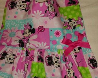 Baby Bib Dress Minnie Mouse