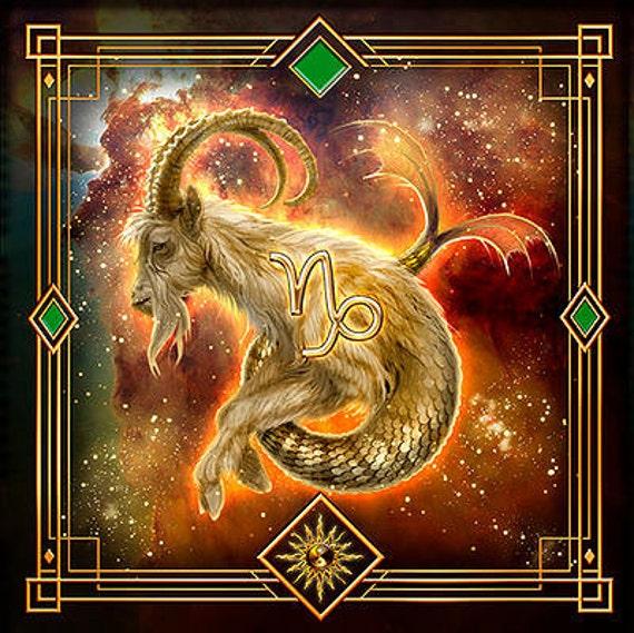 Capricorn cloth