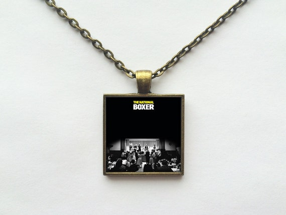 The National - Boxer Album Cover Necklace OR Keychain
