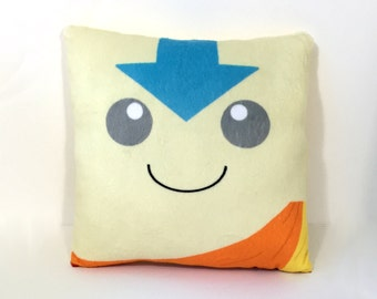 Aang Avatar The Last Airbender Inspired Pillow