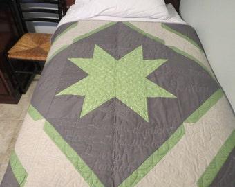 Baby quilt- Starlight Starbright