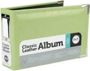 We R Memory Keepers Kiwi 4x6 Leather Album 30909-3