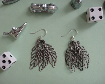 Handmade Leaves Earrings