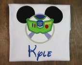 Buzz Lightyear Mickey Mouse Shirt, Vacation, Birthday