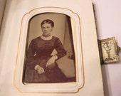 Nice 1860s Photo Album & Some Pics .. Nice Tintype of Girl