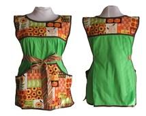 Thanksgiving Apron, Plus Size Apron - Cobbler Apron - Fits XL to 2X - Ready To Mail