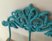 Wall Hook, Wall Hanger, Shabby Chic Hook, WITH HardWarE