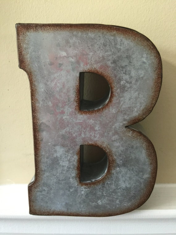 metal letters home decor metal letters wall decor wall metal letter galvanized 23627 | il 570xN.1034168883 kg3w
