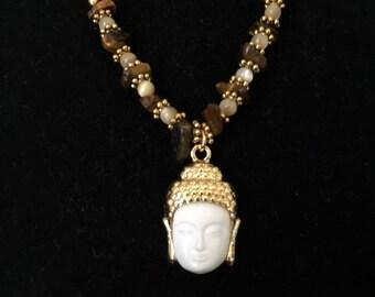 Gautama Buddha Pendant Necklace