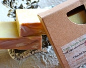 Olive Oil Soap, Cinnamon & Clove, 4.5 oz., FREE SHIPPING, made with organic oils  by Green Bubble Gorgeous on etsy