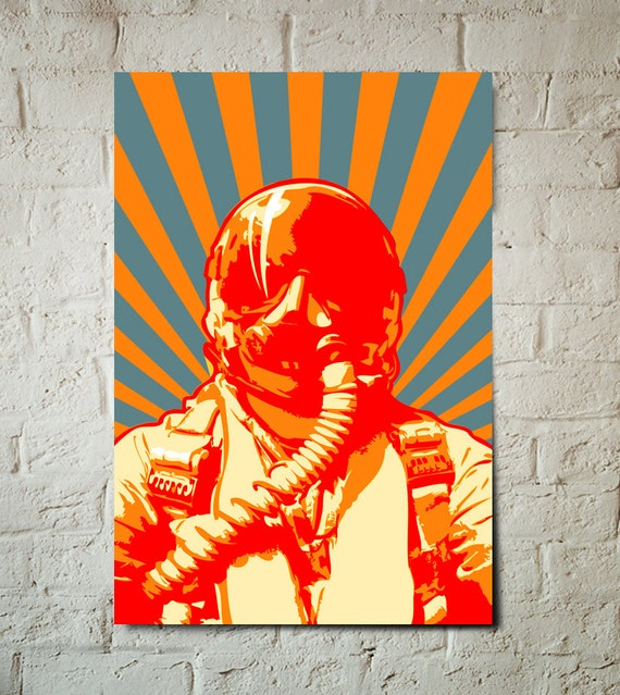 Airplane Decor, Art Print, Jet fighter pilot, retro, military, Pop Art, modern art illustration, Poster art available in multiple sizes.