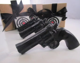 3 Gun Soap  - gifts for husband, stocking for man, gifts for him, valentines for boyfriend