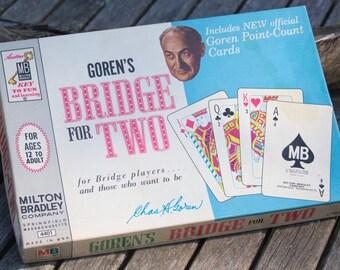 Vintage Goren's Bridge for Two