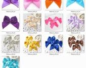 50PCS 20mm Assorted color Satin ribbon bows You pick color