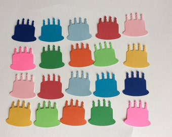 100 Birthday cake card Making Scrapbooking Embellishments confetti