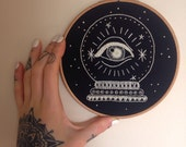 Crystal Ball Embroidery - Rachel Welsby