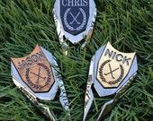 Personalized Golf Ball Marker& Divot Tool - Groomsmen Gift, Gift for Dad, Groom Gift, Best Man Gift, Gift for him, golfer, Men's Gift,