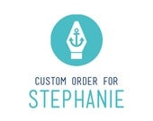 Custom Welcome Invitations & SnapChat Filter for Stephanie