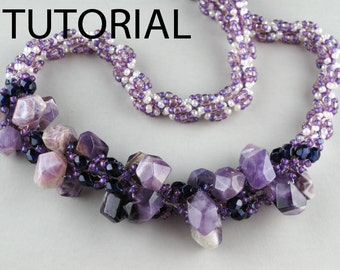 TUTORIAL -Chunky Nuggets Necklace