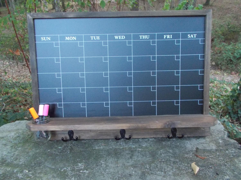 Kitchen Message Board Large Chalkboard Calendar Message Board Office Decor Kitchen