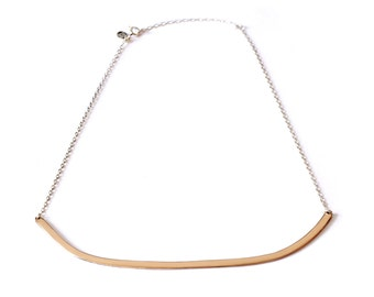 Being Collar Necklace - Bronze