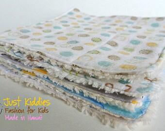 Baby Washcloth Set of 5 - Baby Wipes - Washcloth - Infant Washcloth - Baby Gift - Baby Shower Gift - Cotton Washcloth