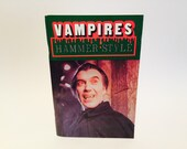 Vintage Horror Book Vampires  Hammer Style by Robert Marrero 1982 Magazine