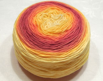 Merino SW 290 - Handdyed merino wool sport weight yarn 134g (4.8oz) - Autumn colors